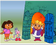 Dora saves the prince online játék