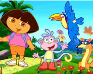 Dora the explorer hidden objects Dorás játékok