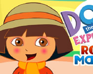 Dora the explorer royal makeup játék