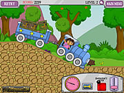 Dora train express game online játék